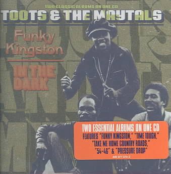 FUNKY KINGSTON/IN THE DARK BY TOOTS & THE MAYTALS (CD)